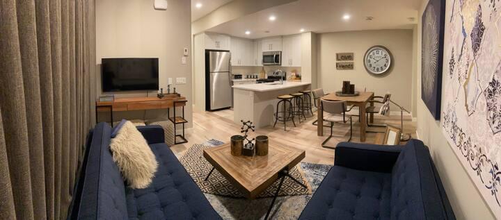 Private Luxury Basement Suite