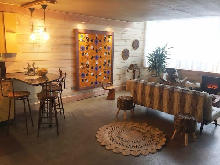Espacioso Loft Rustico en el Barrio Bellavista
