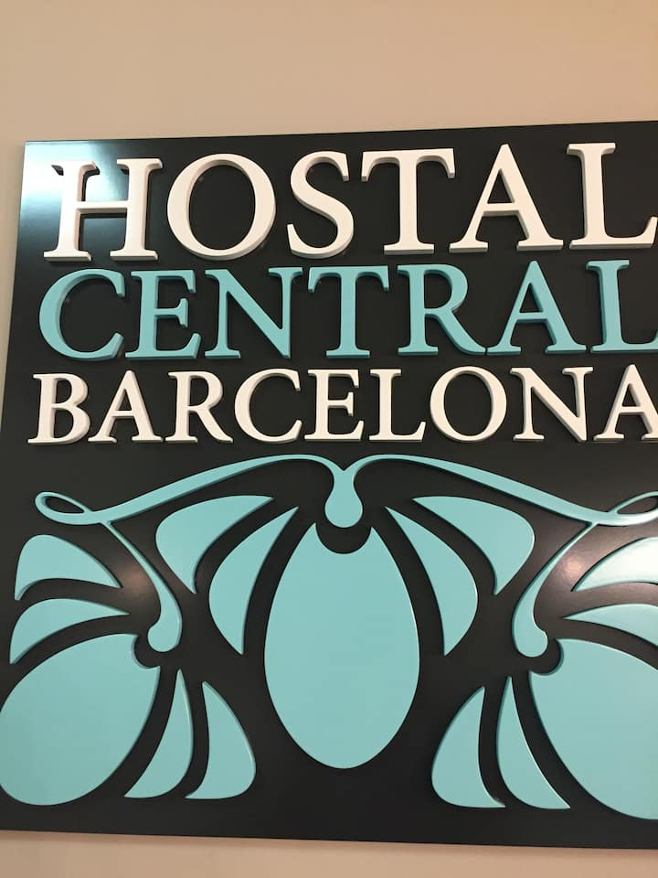 4-Boutique hostal en centro de Barcelona