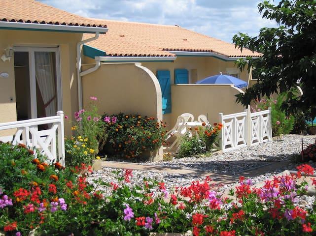 Résidence Le PATIO à 2 pas de la plage Studio n°2 - Mimizan - Apartament