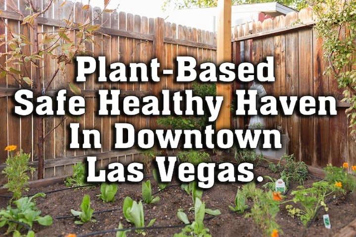Health Conscious RETREAT House with Vegan Garden