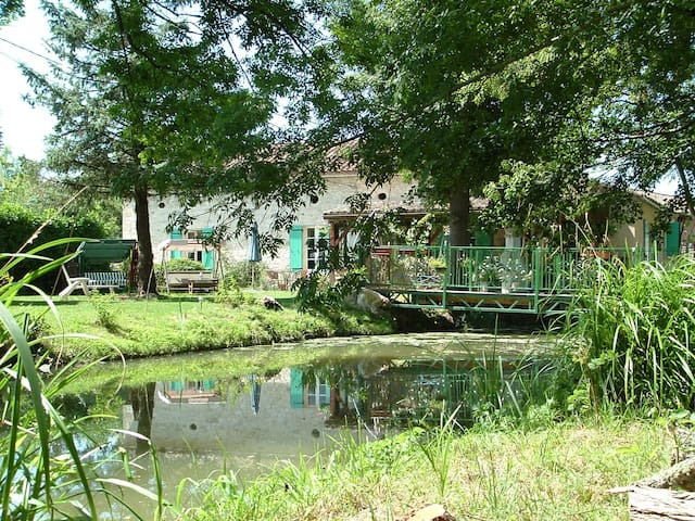 Mill House, water mill with 10 x 5m pool - Bournel - Rumah