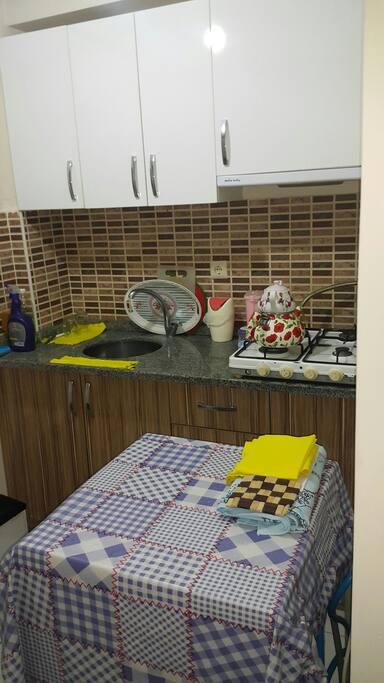 mutfak ve çamaşır makinesi