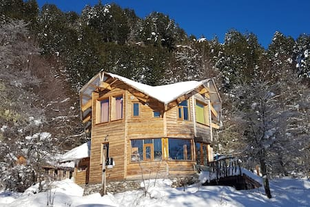 Sustainable Remote Scenic EcoCabin in the Woods