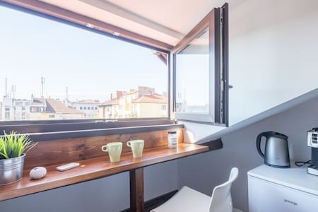 Cozy loft with a great view in the top city center - 索非亚 - 公寓
