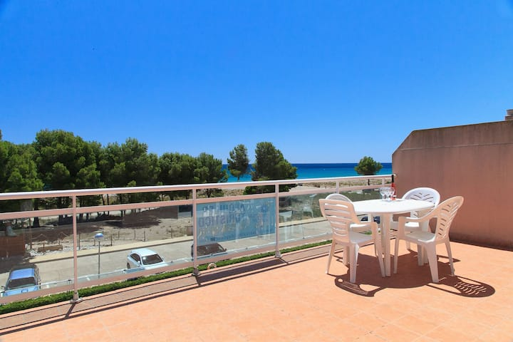 COSY APARTMENT WITH POOL ON THE BEACHFRONT - UHC ARCO DEL SOL 165