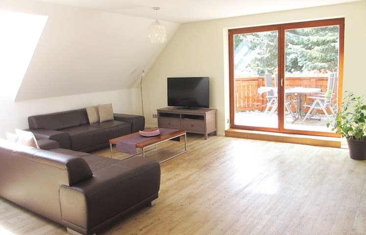 Luxus Ferienwohnung mit Balkon - Rheinsberg - Apartamento