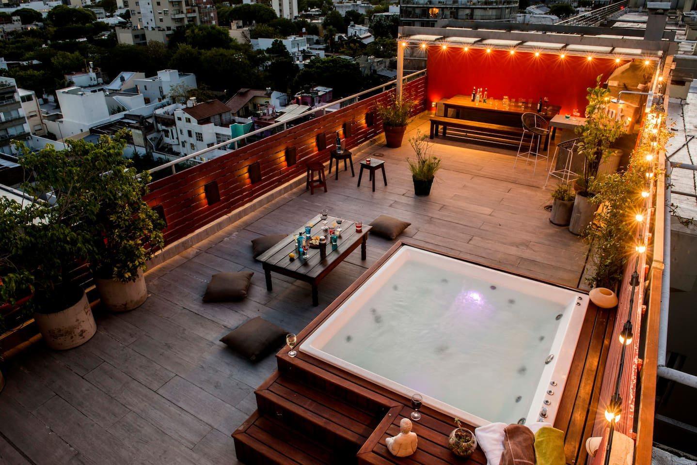 Superb private rooftop terrace, just fantastic
