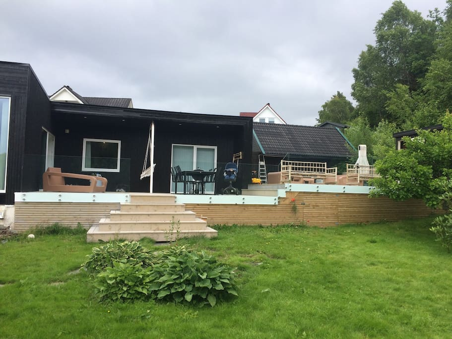 the house i about 190 M2