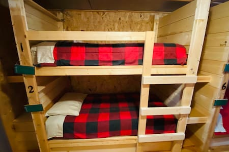 Hungry Hippie Hostel Bunk #1 (top bunk)