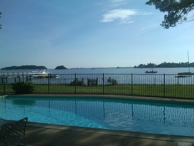 Old Greenwich Summer Waterfront Living - Greenwich - Dom wakacyjny