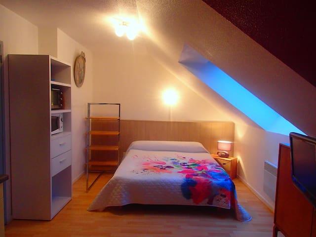 studio clerc proche des thermes - Salins-les-Bains - Apartment