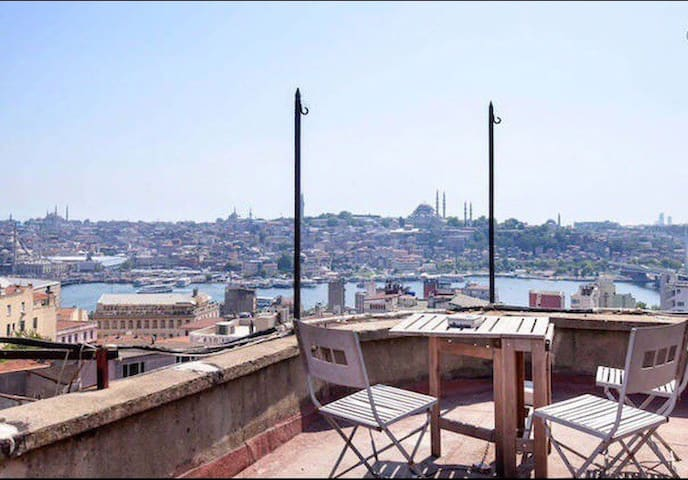 Exceptional Design by Galata Tower w/View Terrace