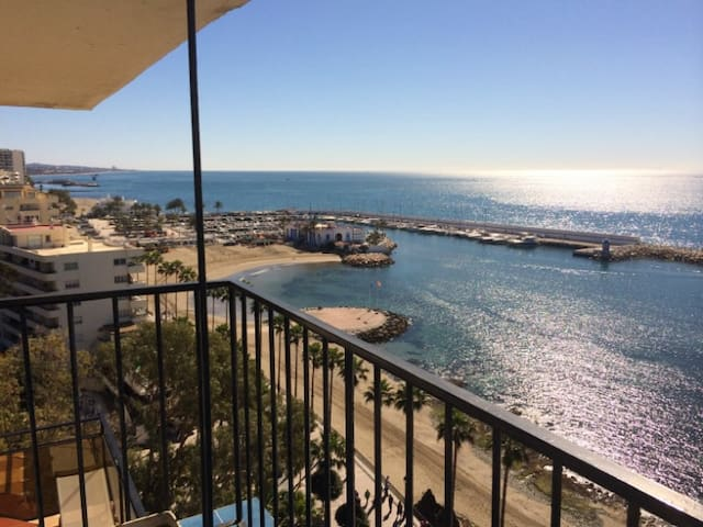skol717 breathtaking views frontline corner duplex - Marbella