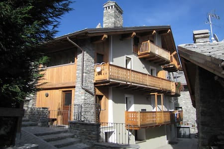 Appartamento in Borgo Storico Pedonale 700 mslm - Saint Maurice