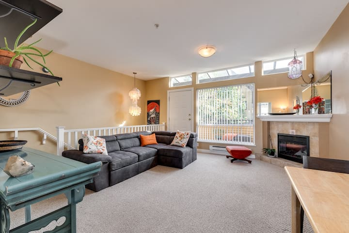 Charming Strathcona Townhouse