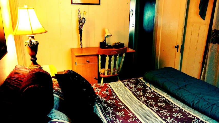 Bedroom - Full Sized Bed. Sleeps 2