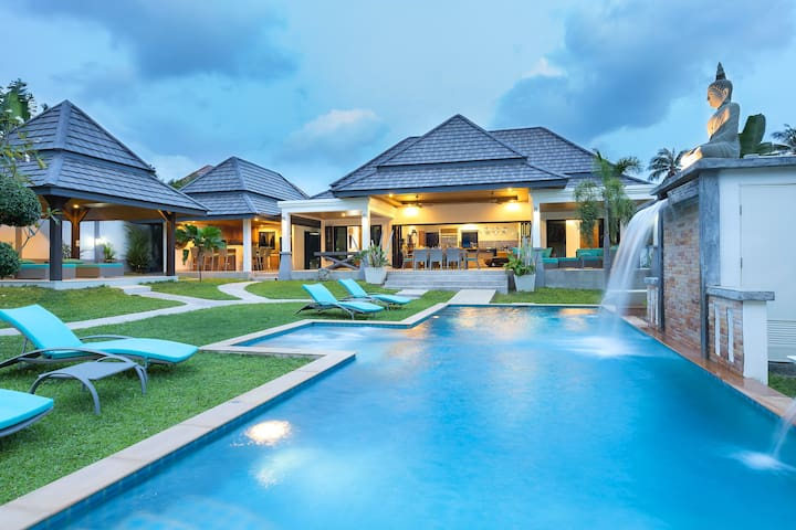 beautiful residence 5 bedrooms pool jacuzzi - Rawai - Ev