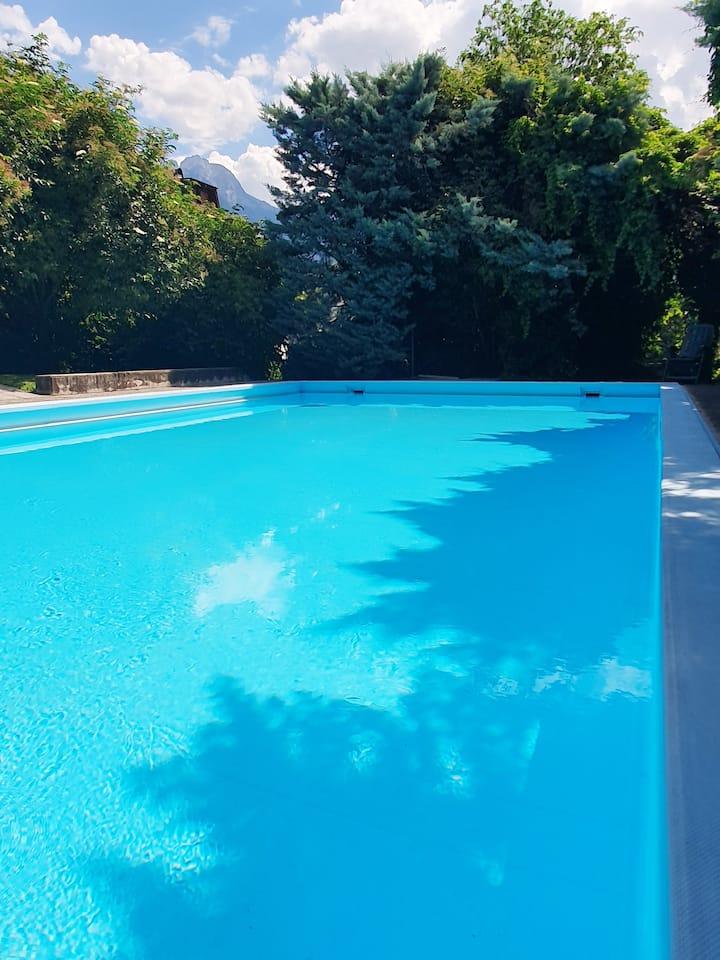 Renoviertes Apartment mit Pool
