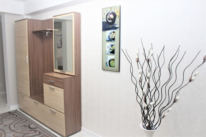 A spacious apartment in the Center of Chishinau