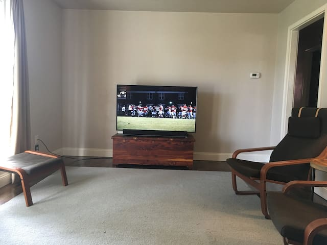 "55"" TV from Couch"