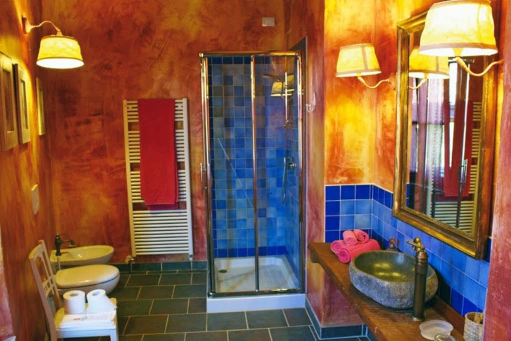 Stanza delle Peonie - bagno