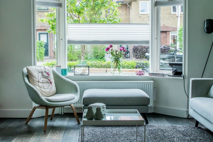 Modern family house close to the beach and Haarlem