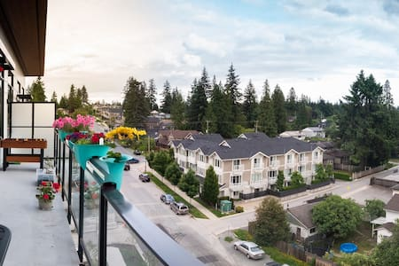 Newly Built 2 Bedroom in Coquitlam with Balcony