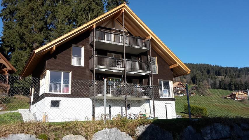 Studio mit herrlicher Aussicht auf Berge und See - Schwanden (Sigriswil) - Loft