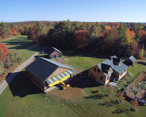 4 Bedroom House on 76 Private Acres in Maine