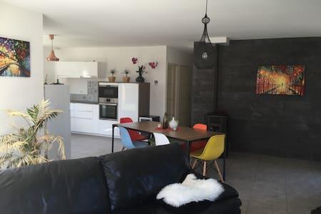 Belle villa+terrasse - idéal séjour pro/détente - Sardieu