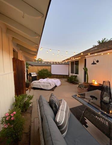 Cute Bedroom in Home w/ Cozy Outdoor Space