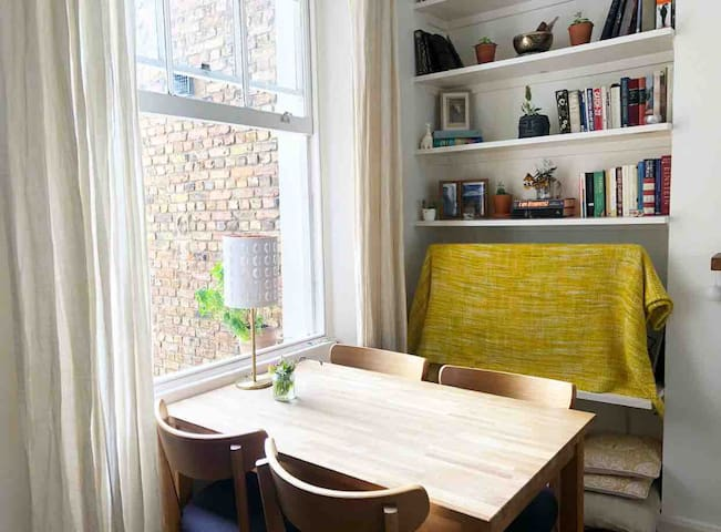 Cozy Light-Filled Room w/Breakfast - Primrose Hill
