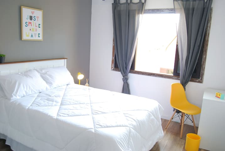 Quarto em sobrado super aconchegante! Pet Friendly