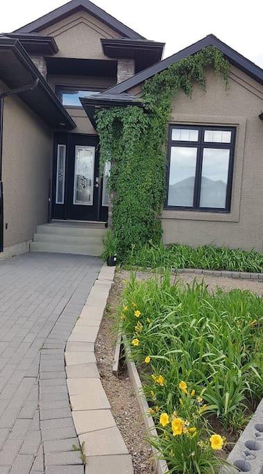 House Front Door / Flowers