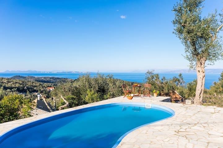 Private pool Villa Isavros