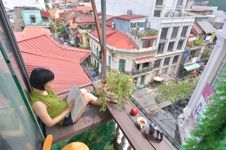 Mia' Home in Old Quarter/Balcony/City View/Lift