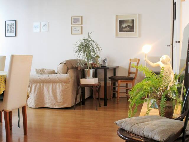 Nice and quiet flat on the Île Saint-Louis (40m²)