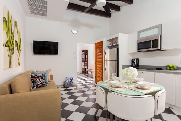 Blush Suite | Beautiful 1 Bedroom in best location in Old San Juan