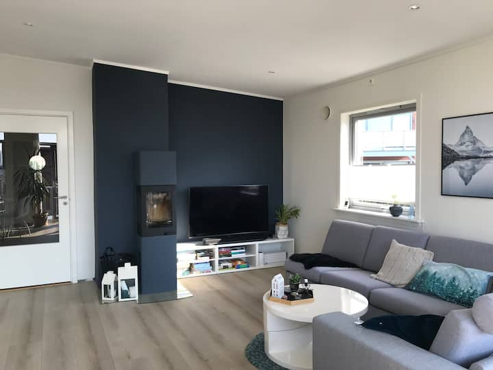 Nice familyfriendly apartment near Aalesund center