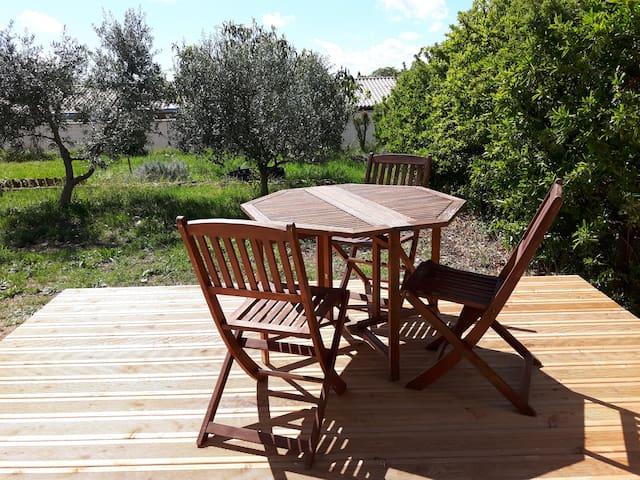 Maison en Provence à Valensole 2/4 places
