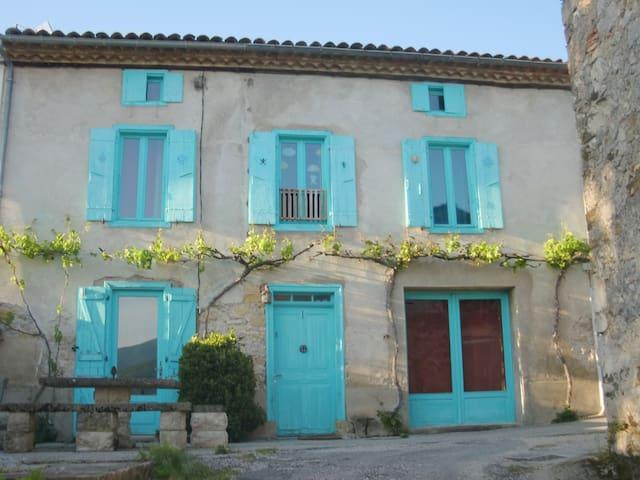maison de village en Ariège - Leychert - Haus
