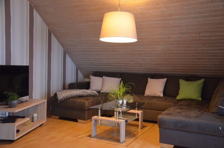 Ferienwohnung am Segelflugplatz - Oerlinghausen - Condominium