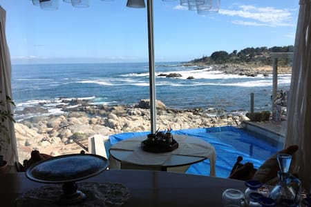 Hermosa casa vista al mar y a casa de Pablo Neruda