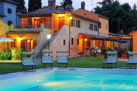 Appartamento ad Arezzo con piscina - Pratantico - Apartmen
