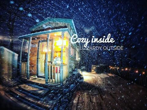 *Bless This TINY HOUSE* on Minnesota Lakeshore