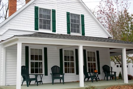 Rustic retreat on 472 peaceful acres with pond - Colebrook - House - 1