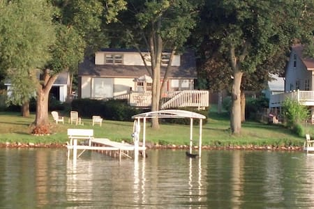 Como Lake house with boat and motor included