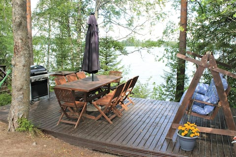 Koivuranta - Uroczy domek nad jeziorem