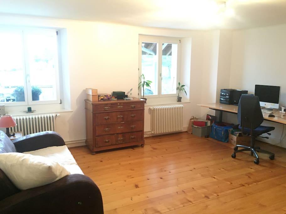 Chambre au calme dans une maison spacieuse maisons louer juriens vaud suisse - Chambre a louer a geneve ...